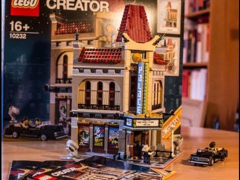 Test LEGO Palace Cinema (Set 10232 LEGO Creator / Bauen mit Modulen)