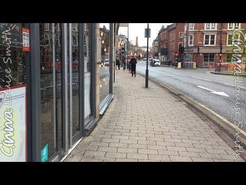 The Walk From Travelodge Hotel Leeds Central To Cosmopolitan Hotel For LFF (Leeds First Friday)