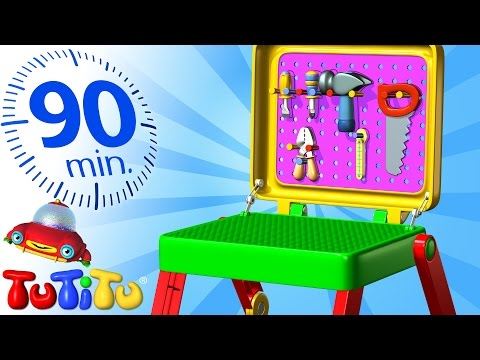 TuTiTu Specials | Toolkit | And Other Popular Toys for Children | 90 Minutes!