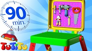 Repeat youtube video TuTiTu Specials | Toolkit | And Other Popular Toys for Children | 90 Minutes!