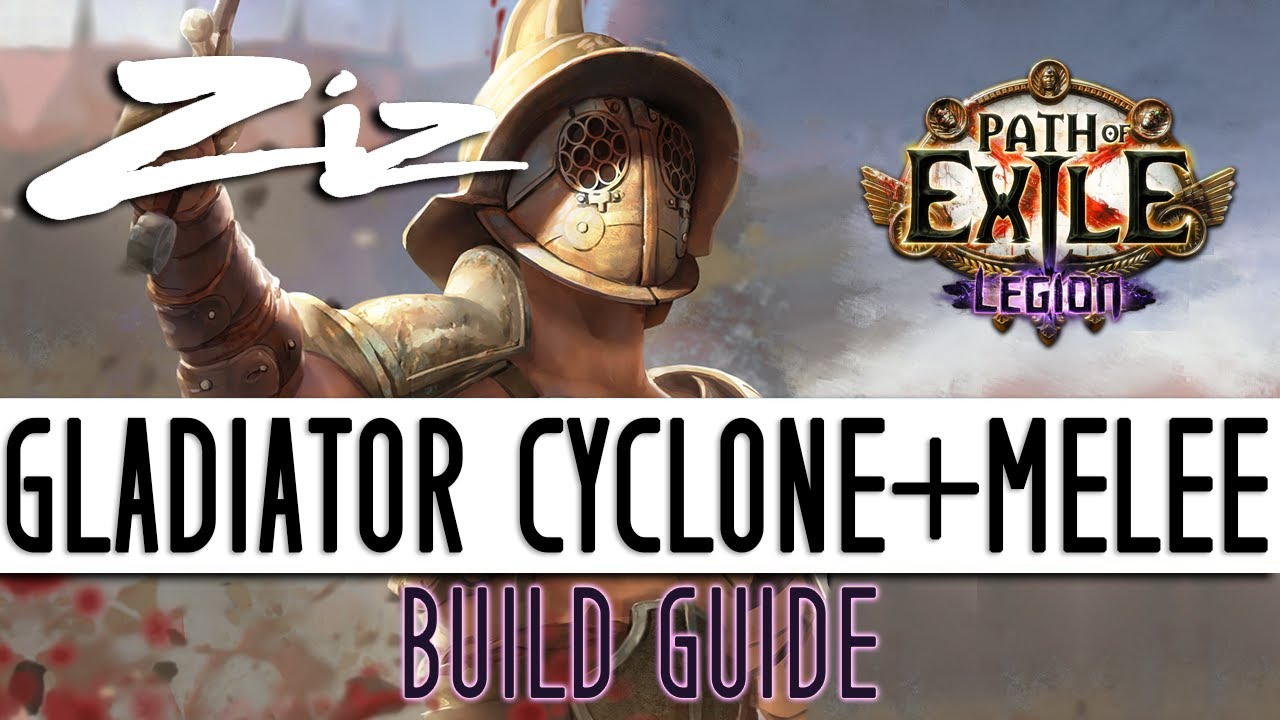 Ziz - 3 7 Legion Gladiator Cyclone + Melee Starter Build Guide!