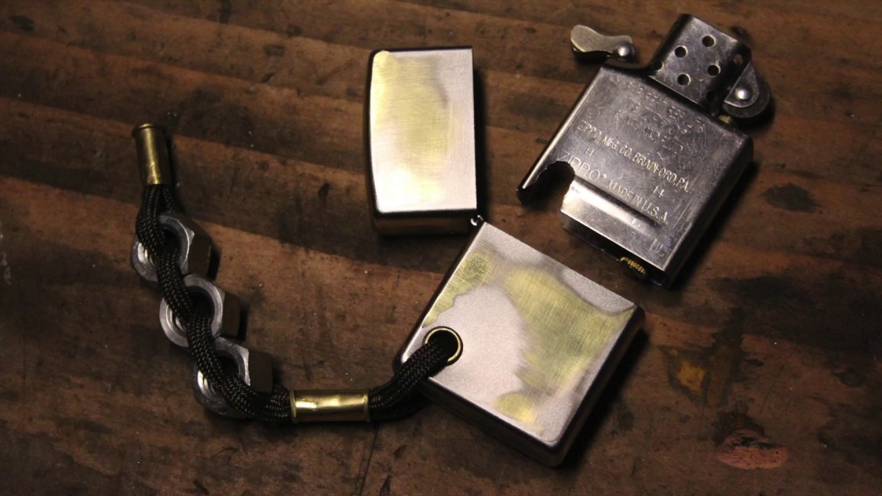 Customizing a zippo lighter