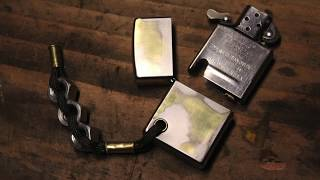 customizing a zippo lighter