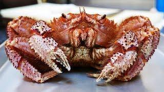 日本路邊小吃 - 巨大毛蟹 海鮮意大利面