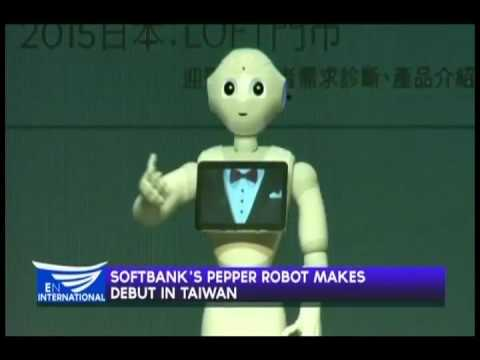 SOFTBANK'S PEPPER ROBOT MAKES DEBUT IN TAIWAN