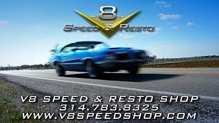 Muscle Car Restoration At The V8 Speed & Resto Shop - 314.783.8325-Video