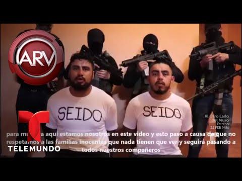 Escabroso video muestra a policías secuestrados   Al Rojo Vivo   Telemundo