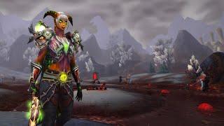 World Of Warcraft Прохождение за эредара #1 - Союзная раса: Эредары