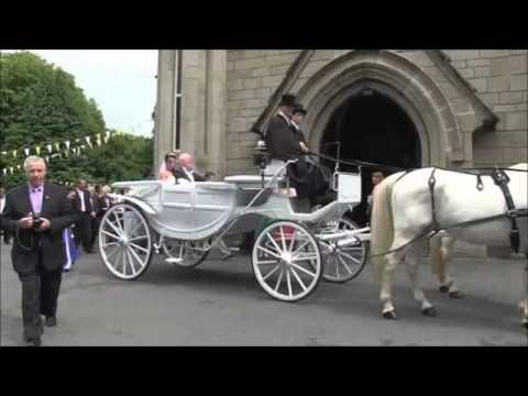 Irish Wedding Carriage by Carol Z's Travel