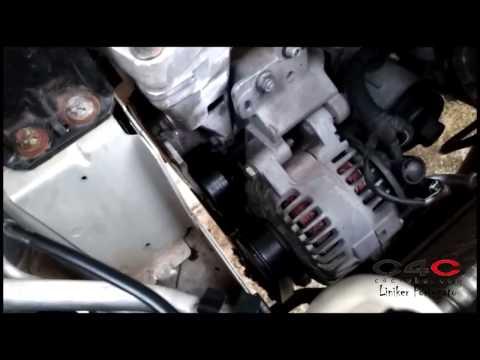 Colocando motor EW10A no ponto - Citroen C4 Pallas