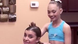 Kalani Hilliker and Maddie Ziegler - French twist - Abby Lee Dance Secrets