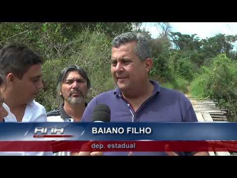 Prefeitos de Confresa e Vila Rica se unem para fazer ponte no Rio Preto