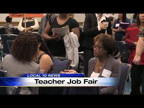 Broward County Public Schools Hosts Job Fair In Search Of Teachers