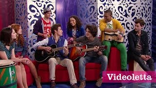 "Violetta 3 English: Guys sing ""Come and sing"" Ep.3"