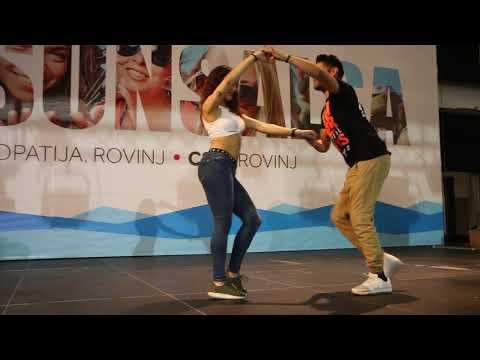 Marco y Sara   Prince Royce - Corazon Sin Cara   Summer Sensual Days, Rovinj 2018
