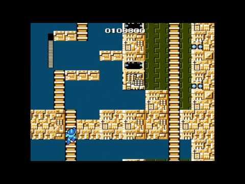 Mega Man 1 Walkthrough - Elecman Stage (Mega Man Legacy Collection)  