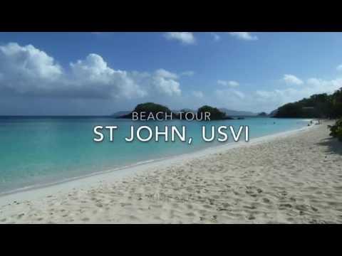 StJohn, USVI Beach Tour