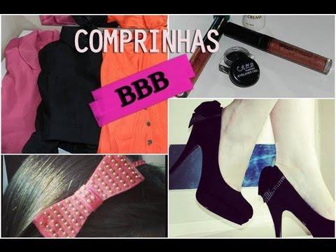 Comprinhas BBB #2: Roupa, sapato e maquiagem - Priscila Simões