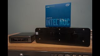 So i installed a mini computer intel nuc in the garage and