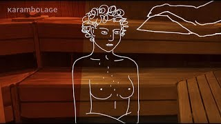 Nackt in der deutschen Sauna | Karambolage | ARTE