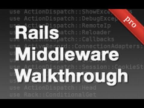 Ruby on Rails - Railscasts PRO #319 Rails Middleware Walkthrough (pro)