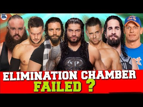 Why Elimination Chamber PPV 2018 Already Failed before on Air ?