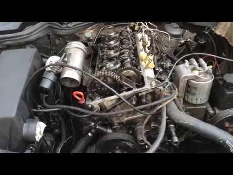 MERCEDES BENZ 2.2L OM604 двигатель часть 2