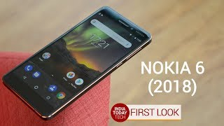 Nokia 6 (2018) first look and quick review