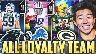 LEGENDS THAT ONLY PLAYED FOR ONE TEAM! Madden 20 Ultimate Team