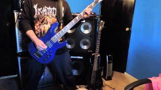 SEPULTURA - INNER SELF BASS COVER w/Jackson JS3 Bass Guitar and Hartke hydrive /XL cabs