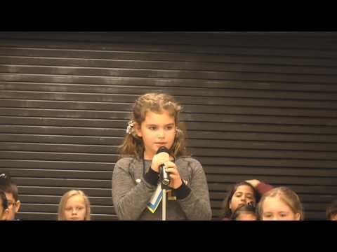 Struthers Elementary Spelling Bee-Dec. 1, 2016