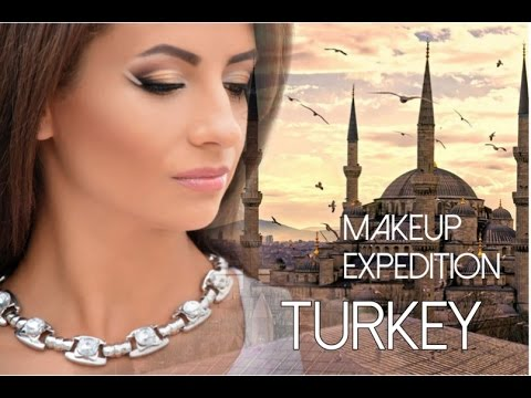 Turkey. Istanbul. Makeup expedition.