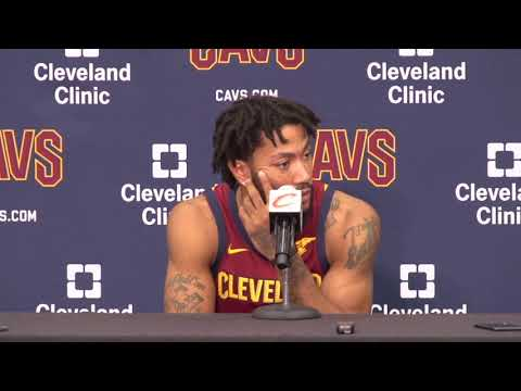 """""""I made the right decision"""" Derrick Rose at Cavs Media Day  2017"""