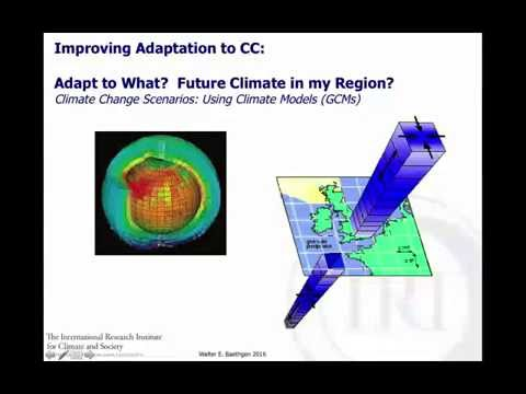 Climate Risk Management in the Agricultural Sector