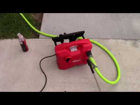 Walmart Pressure Washer - Hyper Tough For Car Washing!