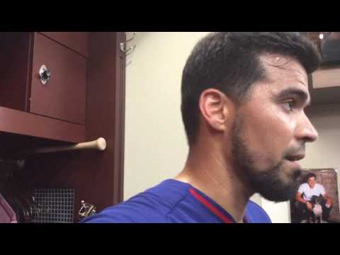 Robinson Chirinos relieved and excited to hear arm had healed