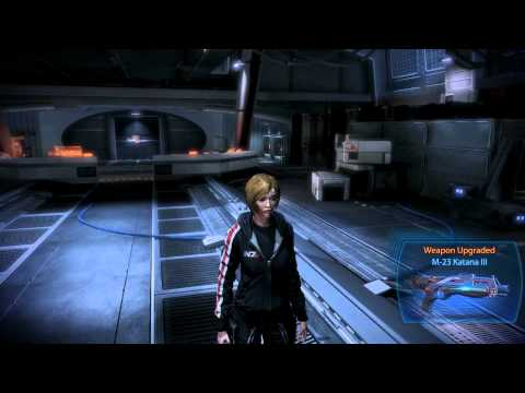Let Play Mass Effect 3 Part 7 -  James has the strangest conversations