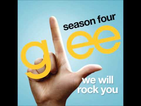 Glee - We Will Rock You (DOWNLOAD MP3+LYRICS)