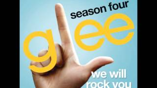 Glee - We Will Rock You (DOWNLOAD MP3+LYRICS)