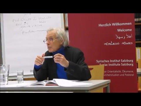 Malphono rabo Prof. Sebastian Brock on St. Ephrem the Syrian