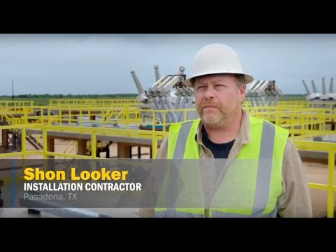 Structural FRP Applications: Texas Gulf Coast Electrical Substation | BedfordReinforced.com