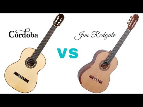 Cordoba C12 Limited Lattice vs Jim Redgate Lattice Braced Guitar