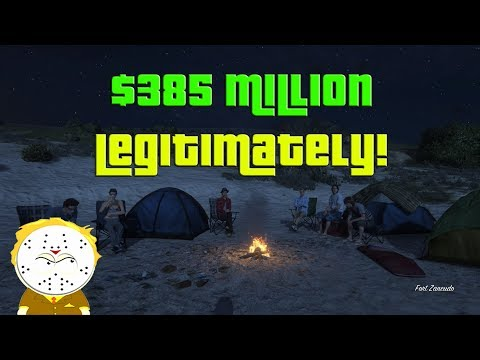 GTA Online Grinding to $385 Million Legitimately And Helping Subs