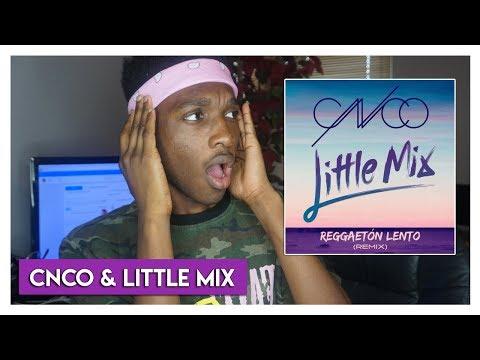 CNCO & Little Mix – Reggaetón Lento (Remix) REACTION   Jayden Reacts