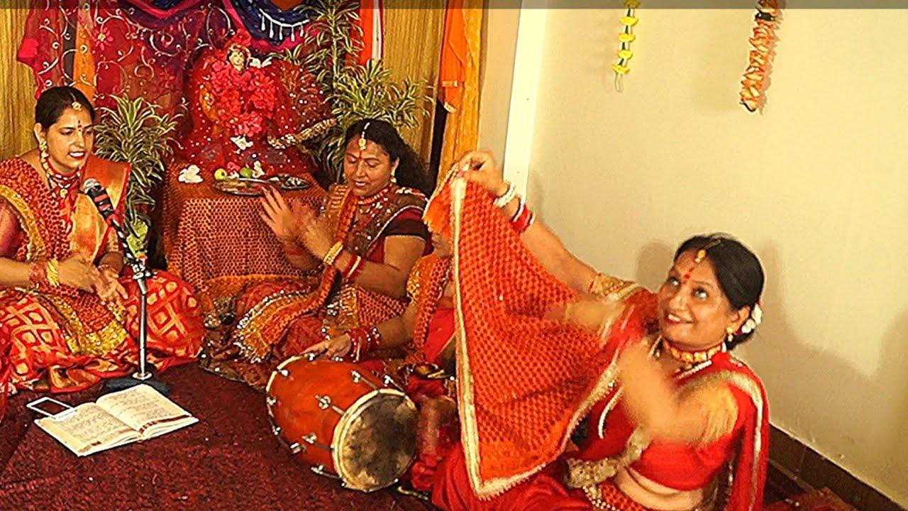 navratri special थोड़ा सा चांदी लाकर मां के पायल बनवा दो पायल के बीचो-बीच भक्तों ओम लिखवा दो