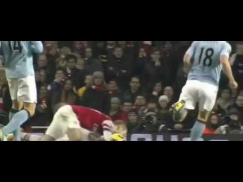 vincent kompany redcard vs arsenal