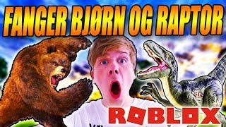 CATCHING A BEAR AND RAPTOR?! -MY OWN ZOO-DANISH ROBLOX-[#2]