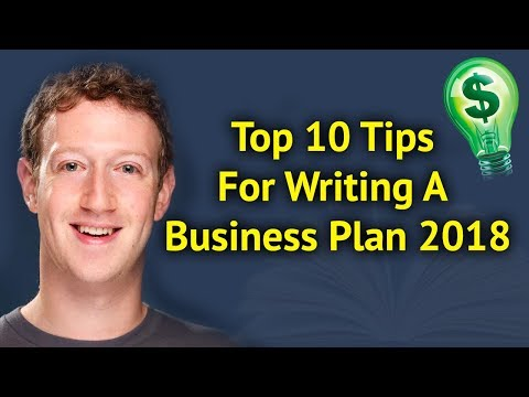 Top 10 Tips For Writing A Business Plan 2018 | Entrepreneur News