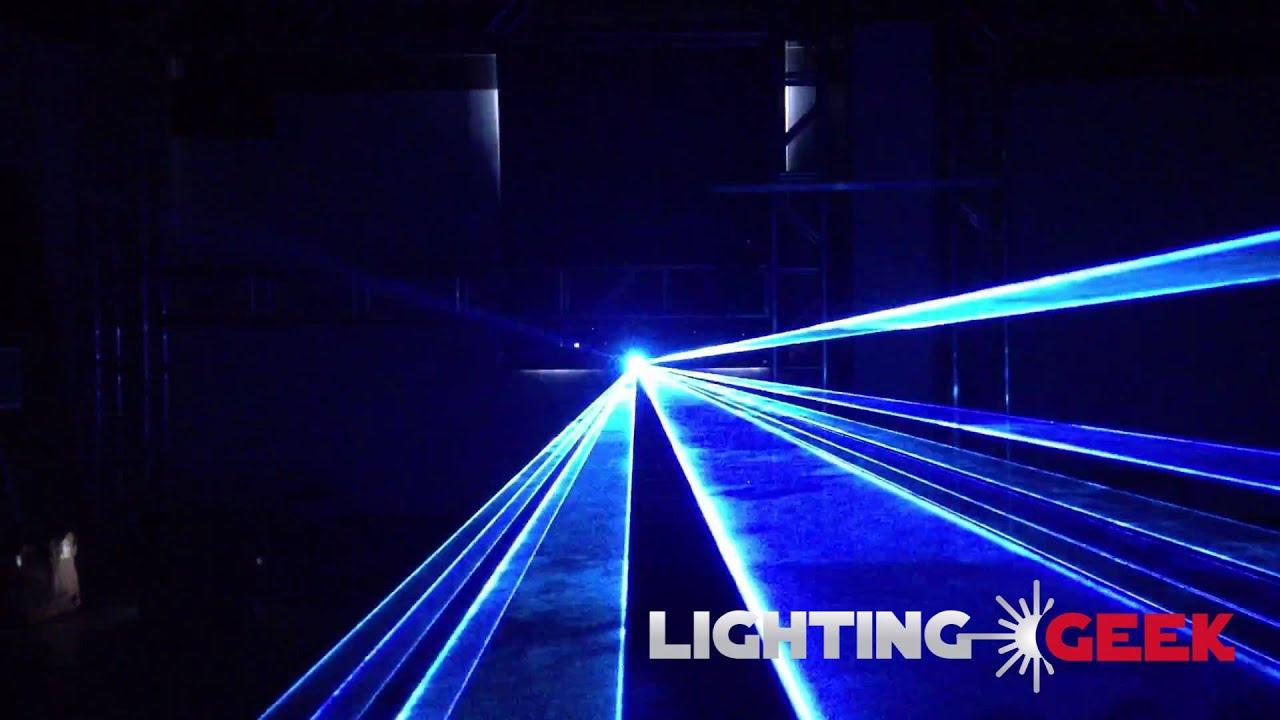 laser light show projector pt 4w rgb lightinggeek youtube. Black Bedroom Furniture Sets. Home Design Ideas