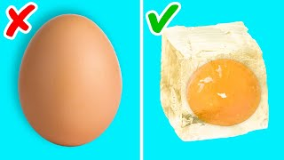 40 TASTY EGG HACKS TO BOOST YOUR COOKING SKILLS! || Kitchen tricks for beginners and pro